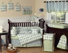 Baby's 9-pc Argyle Nursery Set