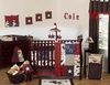 Baby's  9pc Wild West Cowboy Nursery Set