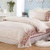Girl's Flower 3-pc Bedding Set