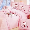 Girl's Hello Kitty Heaven Bedding Set