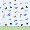 Kid's Wild Animals Bed Sheet Set