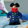 Boy's Pirate Pete Pirate-shaped Pillow