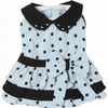 Vivid Vavid Puppy Dress - Blue