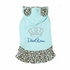 Safari Elegant Puppy Dress - Blue