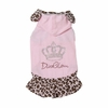 Safari Elegant Puppy Dress - Pink