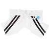 Puppy Football Shorts - White