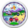 Boy's Transportation Clock