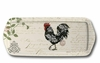 Damask Roosters Sandwich Tray
