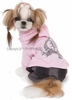Teenage Stuff Puppy Overalls - Pink