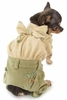 Natty Real Girl Puppy Overalls