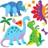 Dinosaur Land Peel & Stick Cut Outs
