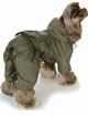 Military All-in-One Puppy Raincoat