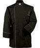 Black/Gray Classic Executive Chef Coat
