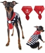 Little Pirate Puppy Scarf - Red