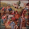 Cushion Cover - Medieval Wine Making
