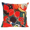 Pavots French Tapestry Cushion Cover