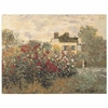 Monet's Garden in Argenteuil Tapestry