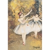 Degas Two Dancers On Stage Tapestry