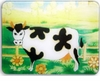 Folk Art  Cow Cutting Board
