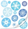 Snowflakes Peel & Stick Cut Outs