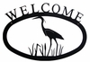 Blue Heron Welcome Sign