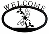Dragonfly Welcome Sign