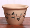 Unglazed Ceramic Bread Pot