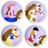 Cowgirl Knobs - Set of 4
