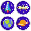 Out of this World Knobs - Set of 4