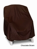 High Back Chair Cover - Brown