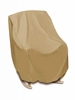 High Back Chair Cover - Khaki