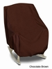 Oversized Chair Cover - Brown