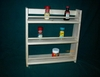 3 Shelf Spice Rack Plain Top