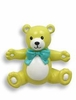 Kids' Yellow Teddy Bear Drawer Pull