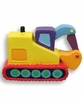 Kids' Construction Digger Drawer Pull