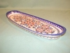 Long Polish Oval Tray - Pattern 04