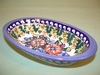 Small Polish Oval  Server - Pattern 04