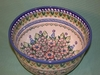 Large Deep Polish Bowl - Pattern 04