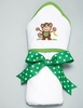 Silly Monkey Hooded Bath Towel