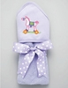 Pony Hooded Bath Towel - Lavender