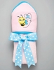Bee Mine Hooded Bath Towel