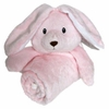 KItteroo Pink Bunny  Security Blanket