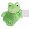 Kitteroo Froggie  Baby Security Blanket