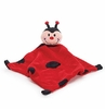 Baby's Ladybug  Plush Security Blanket