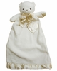 Cream Bear Security Blanket