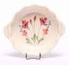 Ceramic Brie Baker - Red Poppy Pattern