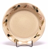 Ceramic Pie Plate - Tuscan Olive Pattern