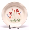 Ceramic Pie Plate - Red Poppy Pattern
