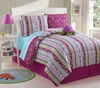 Girl's Reversible Turtle Bed Set