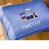 Boy's Personalized Floor Pillow -Transportation